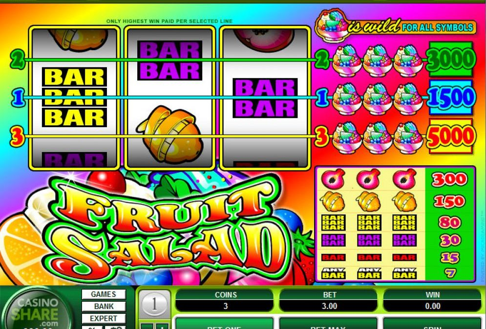 Tasting the Delicious Fruit Salad Slots for the First Time