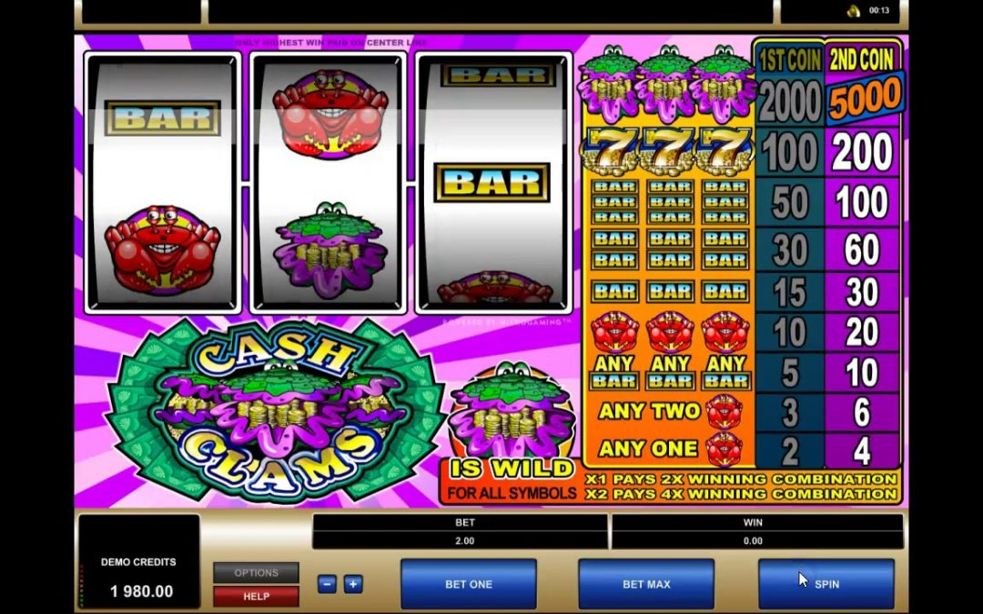The Fun of Cash Clams Machines
